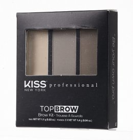 Kiss New York Professional Top Brow Kit Ebony KBK04