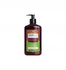 Arganicare Macadamia Leave-in Conditioner For Dry & Damaged Hair 400 ml.