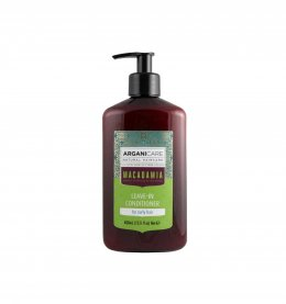 Arganicare Macadamia Leave-in Conditioner For Curly Hair 400 ml.