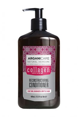 Arganicare Reconstructing Collagen Conditioner  for thin, damaged and brittle hair400 ml.