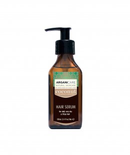 Arganicare Coconut Hair Serum for dull ,very dry & frizzy hair 100 ml.