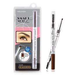 Mei Linda Smart Auto Brow Liner #02 BlackBrown