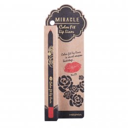 Mei Linda Miracle Color Fit Lip Liner #07 Flame