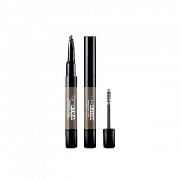 Kiss New York Professional  Top Brow Sculpting Brow Pencil & Mascara Kbsp01 Taupe