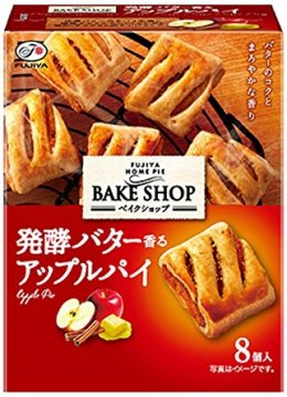 Fujiya Home Bake Shop Apple Pie 80 g.