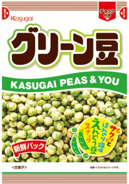 Kasugai Green Bean Snack 138 g.