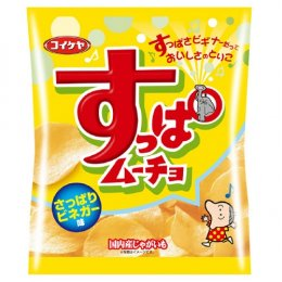 Koikeya Potato Vinegar Flavour 55 g.