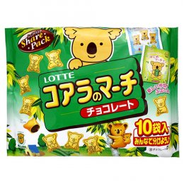 Lotte March Of Koala Chocolate snack 120 g.