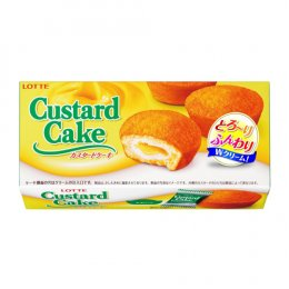 Lotte Custard Cake 6 pcs.
