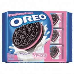 Oreo Strawberry Sandwich Cookies Packs 264.6g