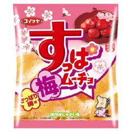 Koikeya Potato Chips Pickle Ume 55 g.
