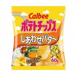 Calbee Potato Honey Butter Snack 60 g.