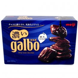 MEIJI Dark garbo rich milk 60 g.