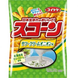 Koikeya Potato Sour Cream Onion 75 g.