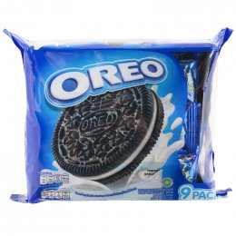 Oreo Vanilla Sandwich Cookies Packs 264.6g.