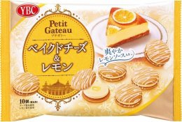 YBC Petit gate baked cheese & lemon 10 pcs.