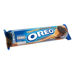 Oreo Double Delight Peanut Butter and Chocolate Cream 137 g.
