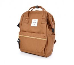 ANELLO MINI BACKPACK -  MOUTHPIECE SERIES AT-B0197B สี BE (Size M)