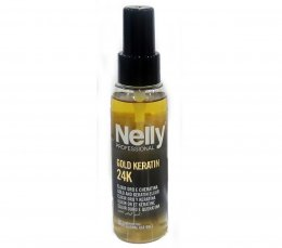 Nelly PROFESSIONAL GOLD KERATIN 24 K (GOLD AND KERATIN ELIXIR) 100 ml.