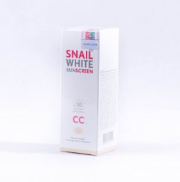 SNAIL WHITE NAMU  LIFE SNAILWHITE SUNSCREEN CC Cream SPF 50/PA+++ 50 ml.