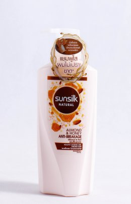 SUNSILK NATURAL ALMOND&HONEY ANTI-BREAKAGE SHAMPOO 450 ml