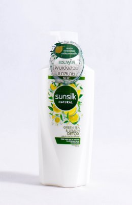 SUNSILK NATURAL GREEN TEA&LEMON DETOX SHAMPOO 450 ml