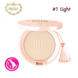 Mille Snail Collagen Pact SPF25 PA++ #1 Light