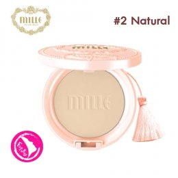 Mille Snail Collagen Pact SPF25 PA++ #2 Natural