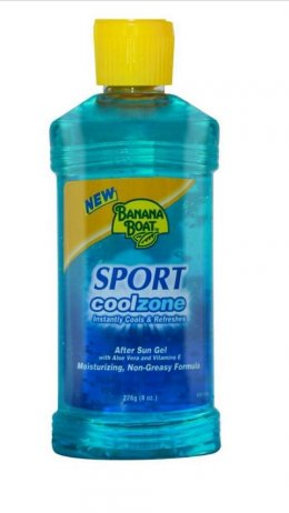 Banana Boat Cool Zone Sport After Sun Gel