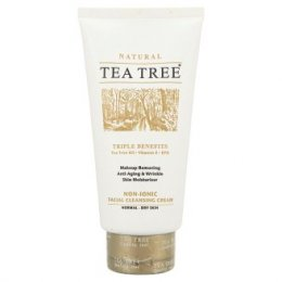 Tea Tree Natural Non-ionic Facial Cleansing Cream