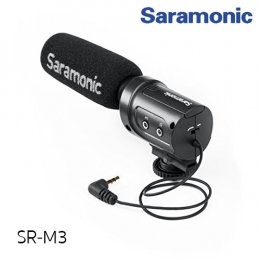 AU-020 ไมโครโฟน Shot Gun Microphone SR-M3