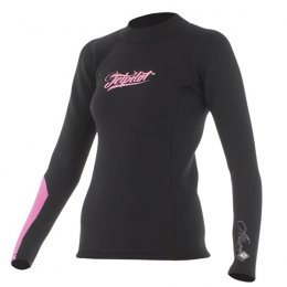 ALLURE 1MM LADIE JACKET BLACK / PINK