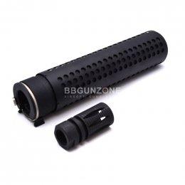 """M4QD Silencer ท่อเก็บเสียง ยาว 7"""" 2in1"""