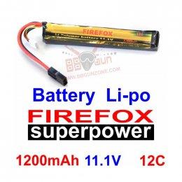 FireFox 11.1V 1200mAh 12C Li-po
