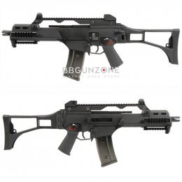 WE 999C G36C GBB Rifle Black SET