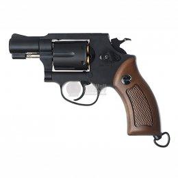Gun Heaven ปืนลูกโม่ 733B 2 นิ้ว CO2 Revolver SV (Brown Grip)