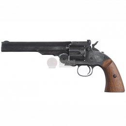 Gun Heaven 1877 MAJOR 3 Co2 Revolver - Antique Black