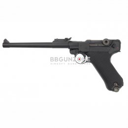 "WE Luger P08 bk 8"""