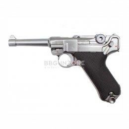 "WE Luger P08 SV 4"""