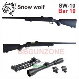 Snow wolf SW-10 (VSR-10) กล้อง+ขาทราย อัพเกรด