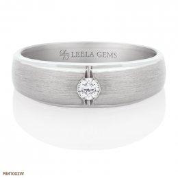 แหวนเพชรแต่งงานชาย
