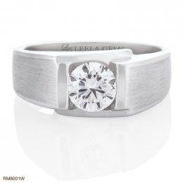 แหวนหมั้นเพชรชาย Premium Size