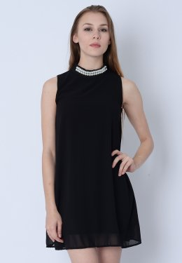 Collection High Neck Dress