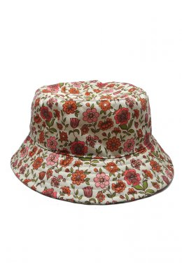 U-re Small Flower Print Bucket Hat