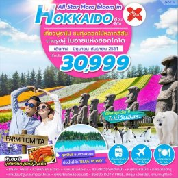 HOK14 ALL STAR FLORA BLOOM ON HOKKAIDO 6D4N