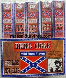 Rebel Cigar  15 ม้วน