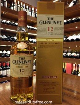 Glenlivet 12 Year Old First Fill