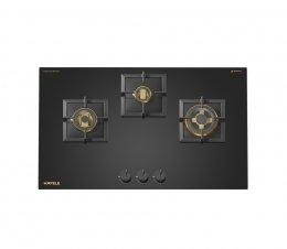 เตาแก๊สกระจกนิรภัย 3 หัวเตา (ซีรี่ย์ 6) ชื่อรุ่น กันนาร์