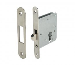 ตลับกุญแจระบบมอร์ทิสล็อค สำหรับประตูบานเลื่อน