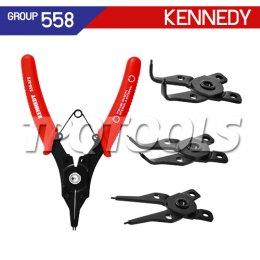 ชุดคีมหุบ-ถ่างแหวน KEN-558-6750K